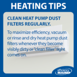 Clean Heat Pump Filters Regularly