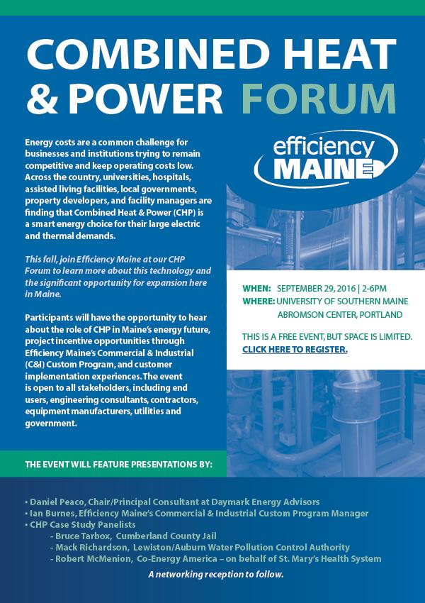 CHP Forum Invite