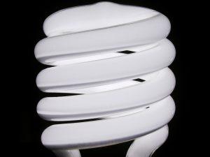 Use Compact Fluorescent Light Bulbs (CFLs) or Light Emitting Diods (LEDs)