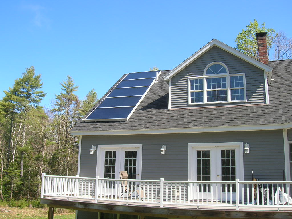 Solar Thermal Efficiency - Solar Hot Water Maine