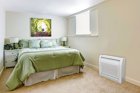 Ductless Heat Pump Floor Unit