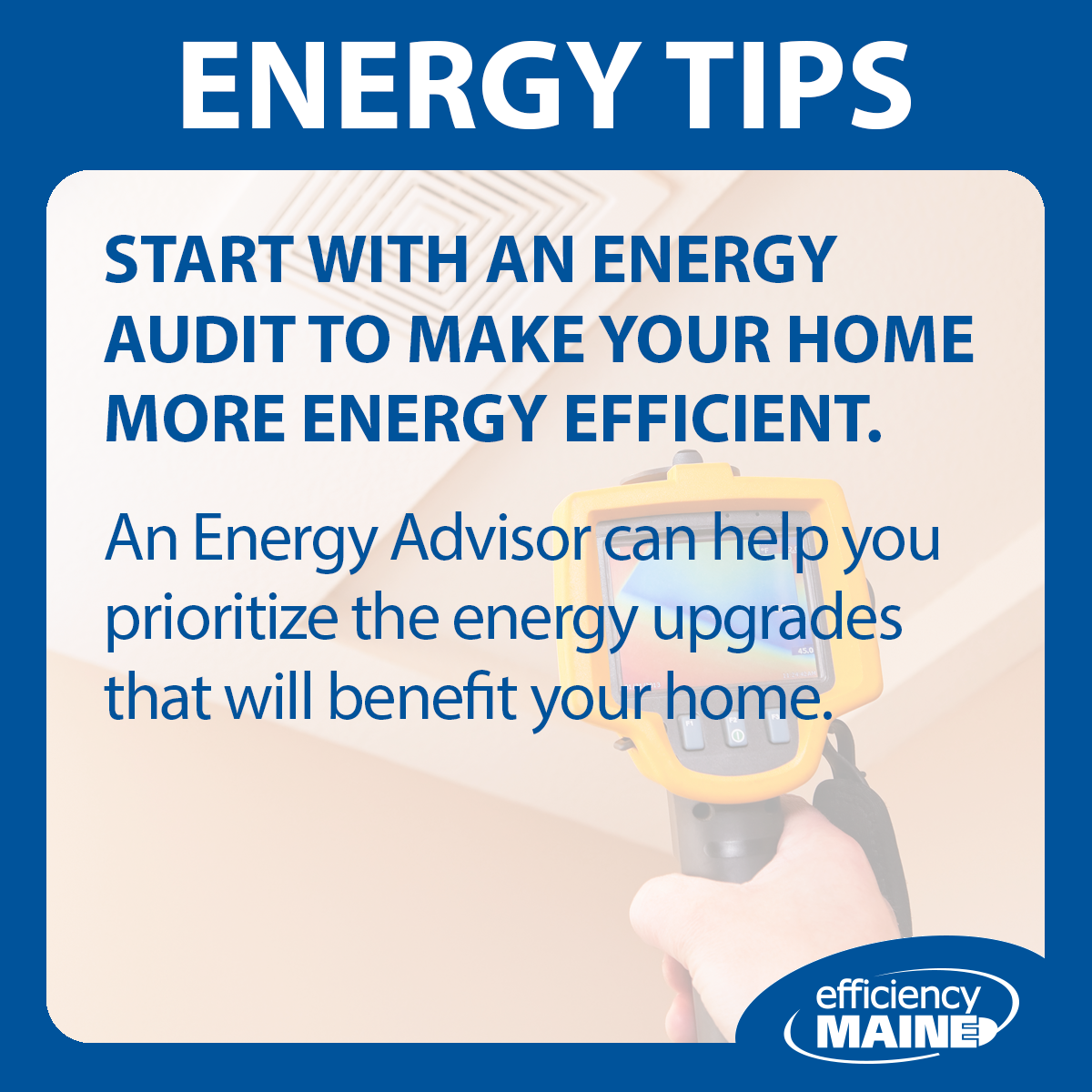 Want to Save? Start With an Energy Audit.