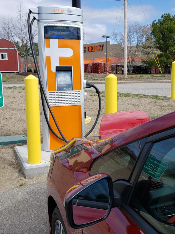 Efficiency Maine Completes First Stage of Statewide Electric Vehicle Fast-Charging Network, Continues Expansion Efforts