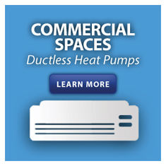 Heat Pumps for Commercial Spaces